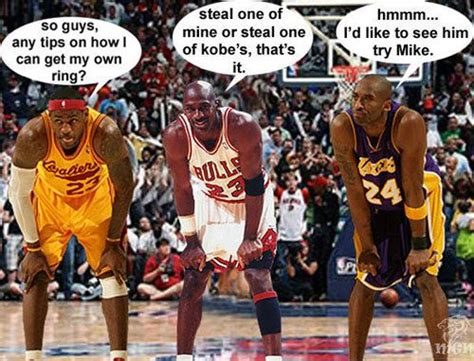 Lebron Kobe Jordan Meme - kobe bryant michael jordan lebron james funny