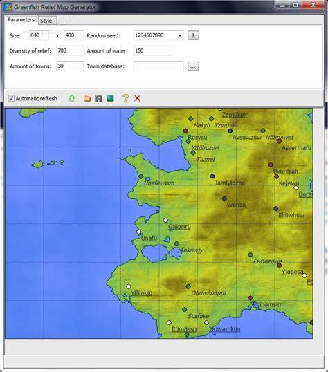 zip code map generator download greenfish relief map generator 1 4