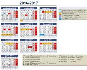 Cabo Verde Calendario 2018 Calendario Escolar 2016 17 En Andalucia
