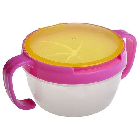 Snack Cups Toddler Useful Snacker Bowl Trendy Baby No Spill Active