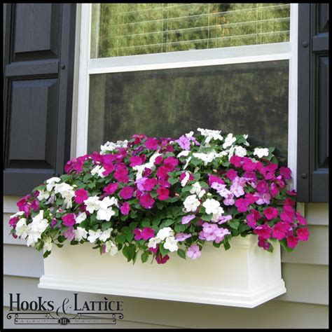 Planters Window Boxes by Laguna Self Watering Window Box Planters