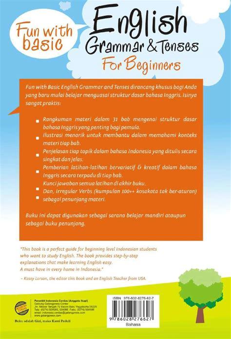 Buku Fundamental Grammat jual buku grammar tenses for beginners oleh