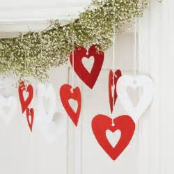 How To Make Paper Christmas Decorations At Home by Heart Garland How To Make Christmas Decorations