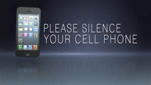 Please silence your cell phone sword point media sermonspice