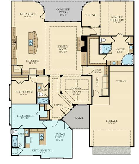 541n new home plan in woodforest wentworth
