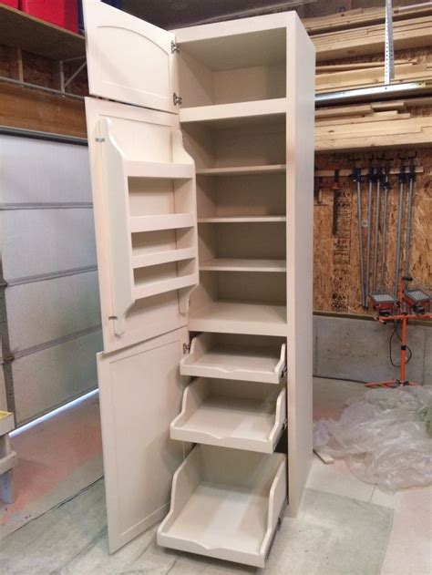 Small Kitchen Pantry Cabinet by Corner Pantry Cabinet Woodworking Projects Plans