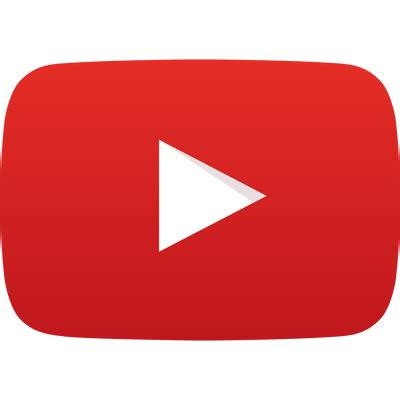 youtube play logo transparent png stickpng