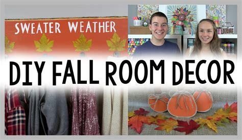 fall room decor diy diy fall decor ideas a craft in your day