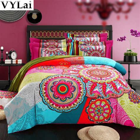 bohemian comforter set boho bedding set
