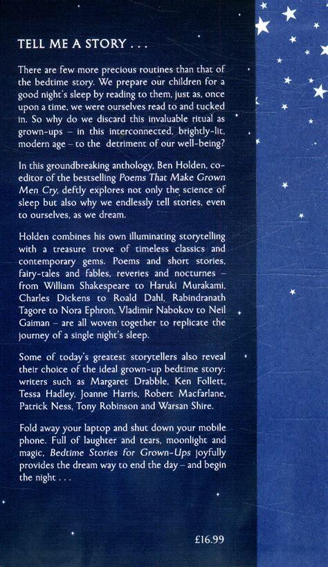 bedtime stories for grown ups books bedtime stories for grown ups by holden ben