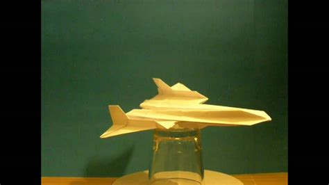 How To Make A Paper Sr 71 Blackbird That Flies - flyable origami sr 71 blackbird by ken hmoob