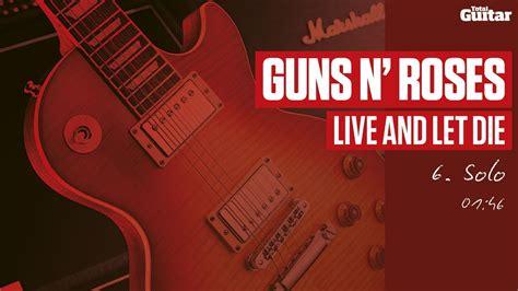 download mp3 guns n roses live and let die guitar lesson guns n roses live and let die part