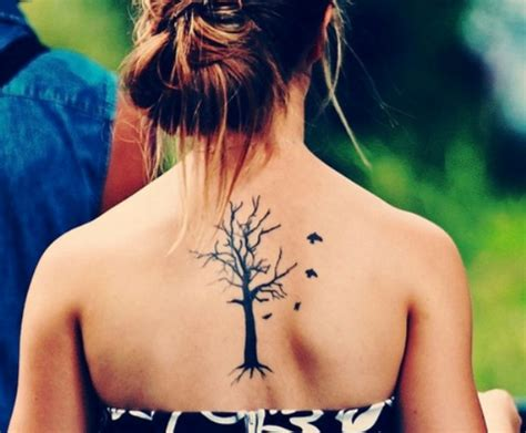 tattoos on pinterest spine tattoos tree tattoos and