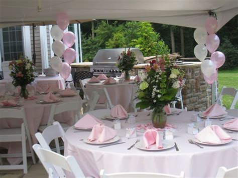 Baby Shower Yard Decorations by 78 Ideas About Backyard Baby Showers On
