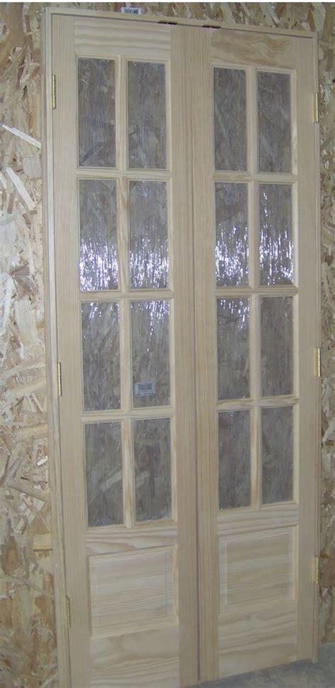 pine   thick   lite french doors