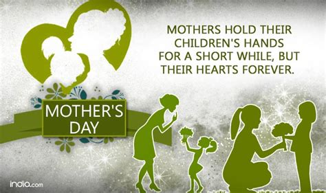 35 most adorable mother s day 2017 greeting pictures mothers hold their children s hands for a short while but