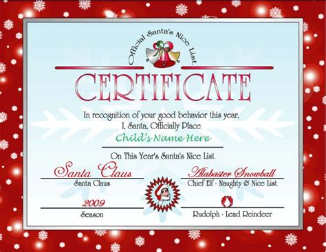 Free Santa Card Templates by Letter Santa Elfi Give Your Child An Unforgettable