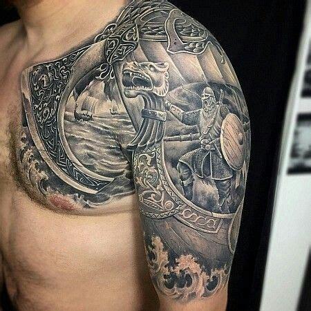 viking ship tattoo znalezione obrazy dla zapytania spartan tatoo