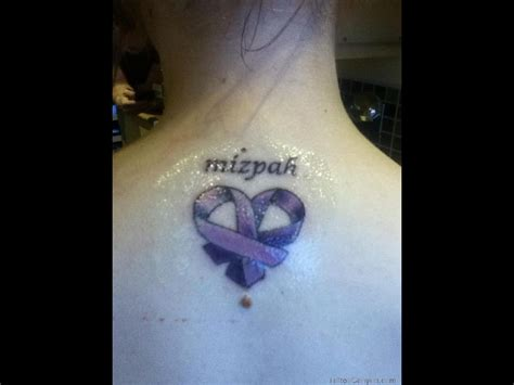 purple ribbon tattoo designs 30 unique purple ribbon tattoos