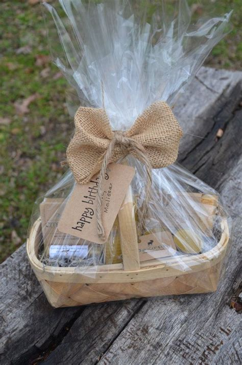 wrapping a gift basket with cellophane s day gift basket candles