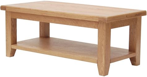 Buy Furniture Link Hshire Oak Coffee Table Large Large Oak Coffee Tables
