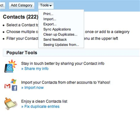 email yahoo sports gmail export contacts email