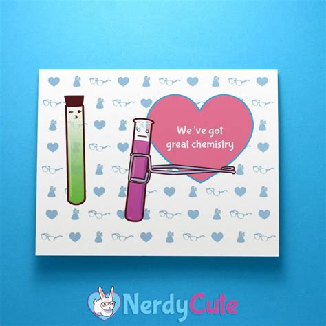 chemistry valentines day card order s day goodies today nerdycute