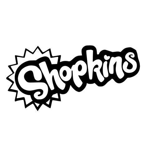 Shopkins Logo Coloring Page | shopkins logo to color get coloring pages