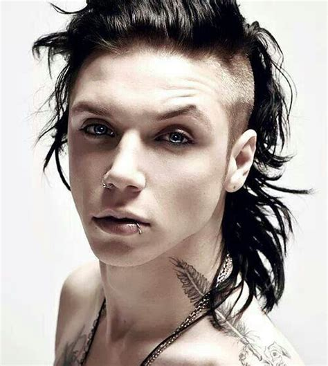 Andy Biersack Hairstyle by 25 Best Ideas About Andy Biersack Hair On