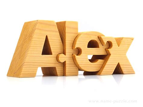 unique gifts wooden name puzzle unique gift idea lettrage