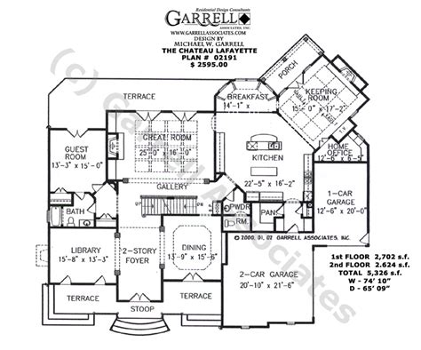 french style floor plans french country house plans 2500 square feet