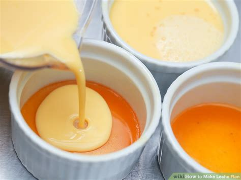 how to make leche flan 11 steps with pictures wikihow