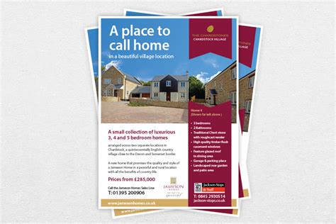 flyer design new property flyer design