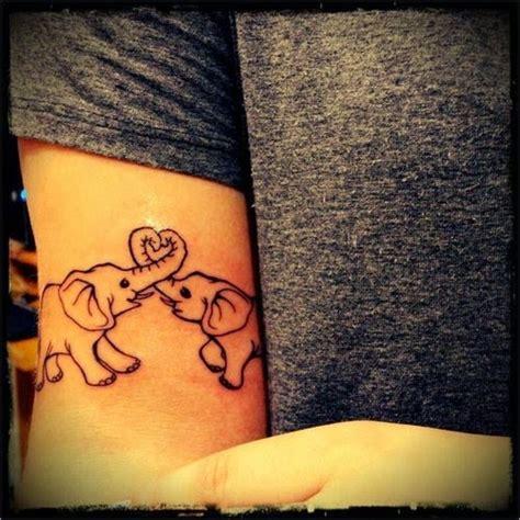 elephant tattoo trunk to tail 36 elephant tattoo trunk up
