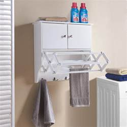 danya b accordion white extendable drying rack with