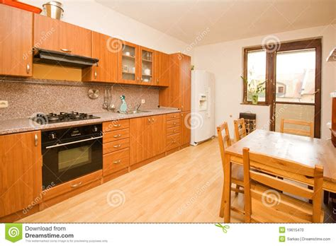 empty kitchen empty kitchen stock photo image 19615470