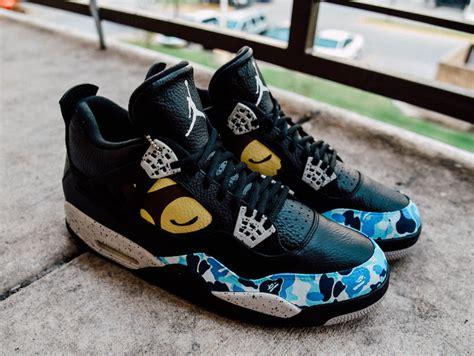 custom sneaker air 4 custom colorways release dates pricing sbd