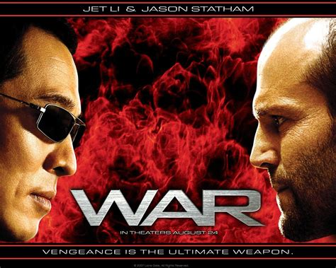 film jason statham dan jet lee jet li jason statham in quot war quot my two favorite action
