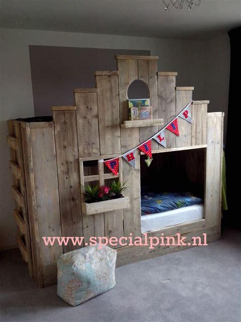 Bunk Bed Images kinderbed zaanshuisje steigerhout stapelbed beds