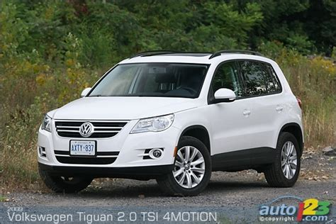 volkswagen tiguan 2009 review list of car and truck pictures and auto123