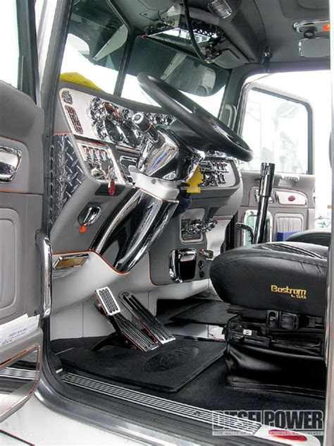West Coast Customs Upholstery by West Coast Customs Big Rig Show Semi Interior Tip