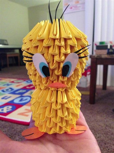 3d origami tweety bird tutorial 71 best my 3d origami images on pinterest basket basket