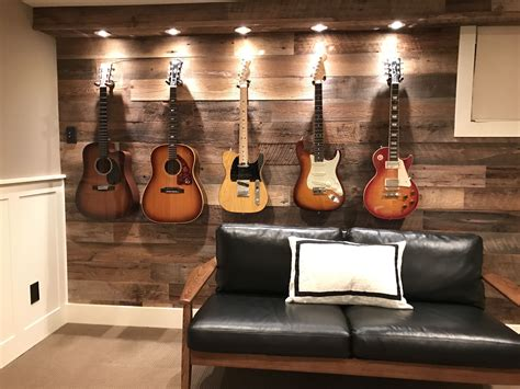 wall decor guitar guitar display wall i transformed this wall and added