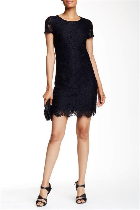 Dress Blue Lace Izzie Shop laundry by shelli segal sleeve lace shift dress nordstrom rack