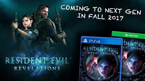 Ps4 Resident Evil Revelations Reg 3 Resident Evil Revelations 1 Coming To Ps4 Xbox One In
