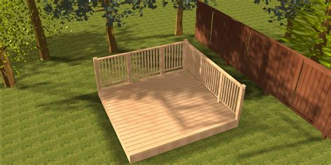Backyard Kits by Triyae Backyard Deck Kits Various Design Inspiration For Backyard