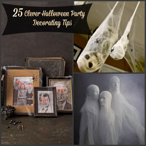 halloween diy decorations 19 diy clever halloween party decorating tips