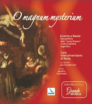 libreria don bosco roma o magnum mysterium cd musicale elledici