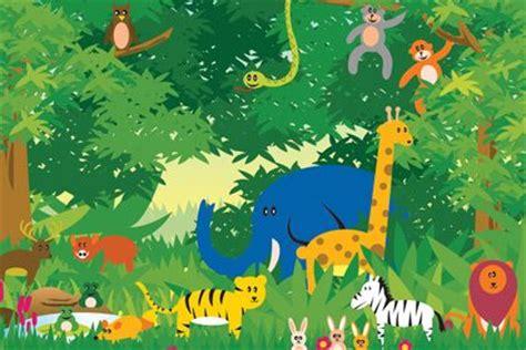 wallpaper for walls jungle theme jungle scene wallpaper for kids room pinterest scene