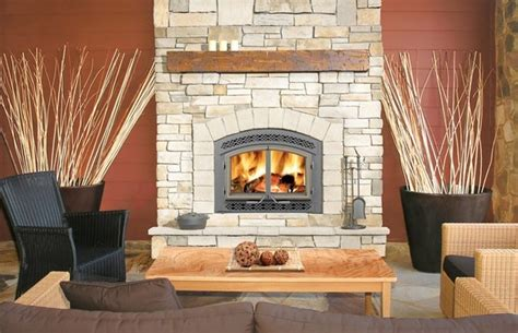 Modern Country Fireplace by Napoleon High Country Nz3000 Series 42 X 43 Wood
